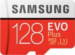 Samsung EVO Plus 128 GB MicroSDXC UHS Class 3 100 MB/s Memory Card @1299