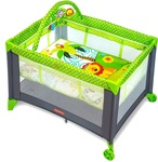 Fisher-Price Babies Playmate Portable Cot - Multi Color