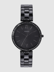 Fossil Women Black Analogue Watch ES4540_OR