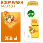 Dettol Body Wash and shower Gel, Nourish - 250ml (Pantry)