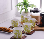 Clay Craft Coffee Mug (Pack of 6) at Flat 65% Off for Rs.168[MRP Rs.486]