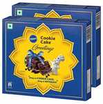 Pillsbury Cookie Cake - Greetings Gift Pack, Pack of 2, 240g