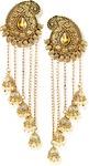 Zaveri Pearls Tassels Dome Shaped Jhumki Drops Earring Zinc Danglers