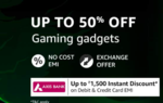 Amazon Grand Gaming Days Sale Offer (27th - 29th January) Up to 50% off on Gaming Gadgets