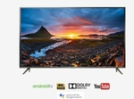 TCL 140 cm (55 Inches) Smart 4K Ultra HD Android LED TV 55P8 (3 Years Warranty, 2019 Model, Grey)