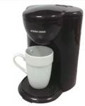 Black & Decker 1 Cup Coffee Maker DCM25 Rs. 779