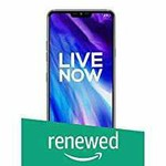 (Renewed) LG G7+ ThinQ Platinum Grey, 6GB RAM, 128GB Storage