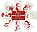 Indigifts Greeting Card Gift Set Set of 8 Post Cards, 1 Envelope @ 99