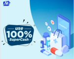 Use 100% SuperCash at pharmacies ( 7th - 9th February)