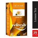 TE-A-ME Signature Black Lemon Tea, 25 Tea Bags