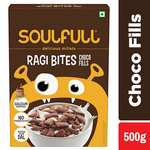 Soulfull Ragi Bites, Choco Fills - No Maida, High Calcium, 500g