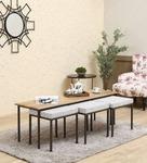 Domino Nesting Coffee Table Set by Bohemiana
