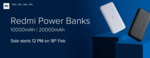 Buy Mi powerbanks from Rs. 799