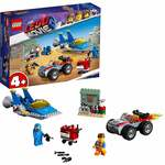 LEGO The Movie 2 Emmet and Benny's Building Blocks (117 Pcs) 70821