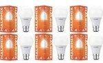 Halonix B22 10-Watt Led ASTRON Plus (Pack of 6, White, Round) RS.71.5 per Bulb