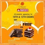 7th Heaven : Buy 1 Get 1 Free Brownie/Pastry for Std. 10th & 12th students