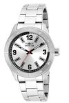 Invicta Specialty Men's Wrist Watch Stainless Steel Quartz Silver Dial