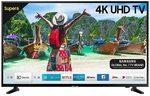Samsung NU6100 138 cm (55 Inches) Smart 4K Ultra HD LED TV (Glossy Black)