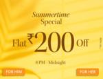 Myntra flat ₹200 off