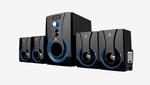 Zebronics SW3490RUCF 4.1 Ch Multimedia Speaker System (Black)