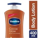 Vaseline Intensive Care Cocoa Glow Body Lotion, 400 ml 40% OFF