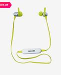 Toshiba Rze-Bt110E Bluetooth Earphones With Mic (Green)