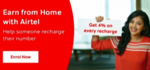 Airtel Thanks App - EARN FROM HOME - GET 4% Cashback on other Numbers recharge and Get 4 % instant discount coupon