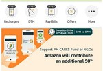 (For All members) Amazon Donation Flash Drive  - Contribute to PM care fund and Amazon will contribute an additional 50%