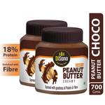 Disano Choco Peanut Butter Creamy Bottle, 2 X 350 g