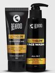 Beardo Ultraglow Lotion & Ultraglow Facewash Combo 43% OFF