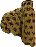 Madanam Men Women Rayon Baggy Yoga Harem Pants Plus Size With Pocket @ 149