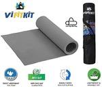 VIFITKIT Yoga Mat with Free Yoga mat Bag Anti Skid Yoga mat for Gym Workout and Flooring Exercise Long Size Yoga Mat for Men Women