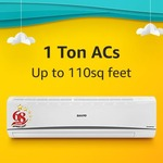 Summer Essentials sale Rs.1500 cashback on Amazon pay purchase of ACs, coolers , refrigerators & more