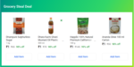 Grocery Steal Deal - 4 Items For Rs.4 (5 Cities - Mum, Chennai, Del, Blr, Hyd)