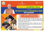 (street vendors) PM-SVANiDHI incentivises on RuPay, UPI, UPI-QR etc transactions by the street vendors through monthly cashback