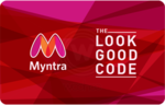Woohoo :- Flat 10% instant off on Myntra E-Gift Cards
