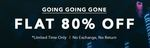 Flat 80% Off On Men's And Women's Clothing