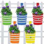 Railing planters pack of 5 good rating