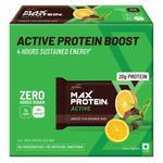 (mrp error) RiteBite Max Protein Active Green Tea Orange Bars 420g Pack of 6 (70g x 6)1 bar costs around ₹120