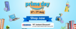 Amazon Prime Day Sale (6-7th Aug) - Upto 70% off + 10% Instant Discount via All HDFC Bank Cards