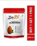 SUPR Daily : Ziofit Almonds buy 1 get 1 (200gm packs)