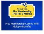 3 Month Free Flipkart Plus Membership [ All Non Plus User ]