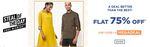 Ajio - Get Flat 75% Off on 1490 and above Till Midnight