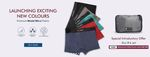 Buy 3 Get 15% OFF   Buy 4 Get 20% OFF   FREE Pouch with 3 DARIO Underwear