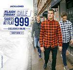 Jack & Jones Flash Friday Sale: Shirts @ Flat Rs. 999/-