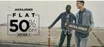 Jack & Jones Sale - Flat 50% OFF On Every Fashion