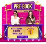Upcoming Flipkart | Pre-Book 11th - 14th Oct