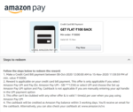 Amazonpay  Roulette spin n win  offer  Credit Card Bug Fixed