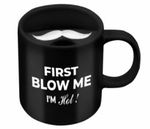 New - Beardo Mooch Swag Black Mug At Rs.299 With Free Delivery