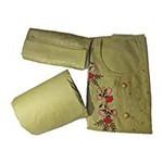 BraceX Unstitched Cotton Salwar Suit Material With Heavy Dupatta